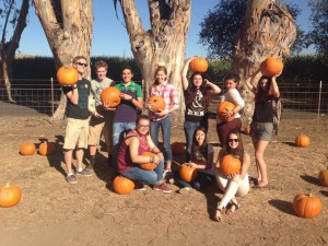 2014-2015 At the Pumpkin Patch!