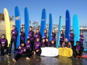 2014-2015 Santa Cruz Surf Trip