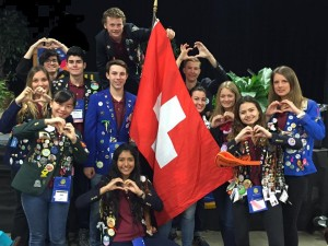 Missing Sophie (SWITZERLAND) at the 2015-2016 D5160 District Conference!