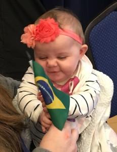 Inbound Coordinator Cassie's daughter: District Conference 2017
