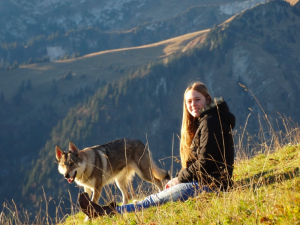 Hailey, Outbound 2016-17 - Just hanging out in SWITZERLAND!